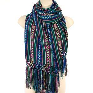 Accessories - Guatemalan Woven Scarf Shrug Shawl Wrap
